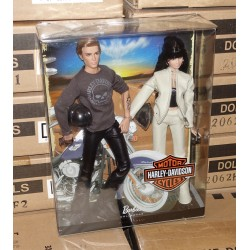 Barbie And Ken Harley Davidson Giftset